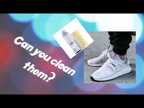 Can you clean NMD'S???