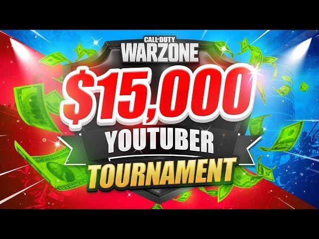 🔴 $15,000 WARZONE TOURNAMENT (Teeps Trials Week 2)