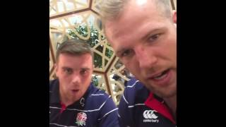 FULL: James Haskell goes behind the scenes on the way to Australia