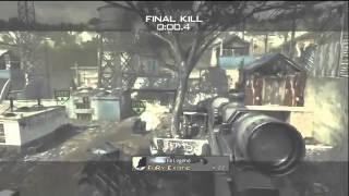 Best MW3 Killcam Yet!