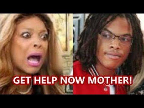 "Download WENDY WILLIAMS SON KEVIN JR. GIVES HER SOME TOUGH LOVE ""GET HELP OR ELSE.."""