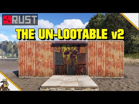 Rust Base Design - The Un-Lootable Loot Room Concept (Rust Base Design)