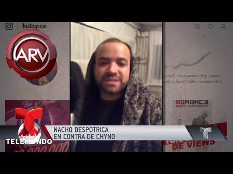 Nacho explotó contra Chyno y así va la polémica | Al Rojo