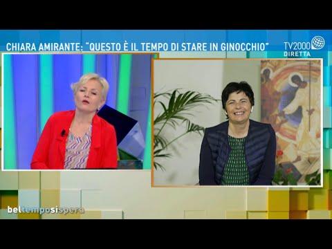 Come rialzarci dai colpi di questa pandemia? - Le domande di TV2000 a Chiara Amirante.