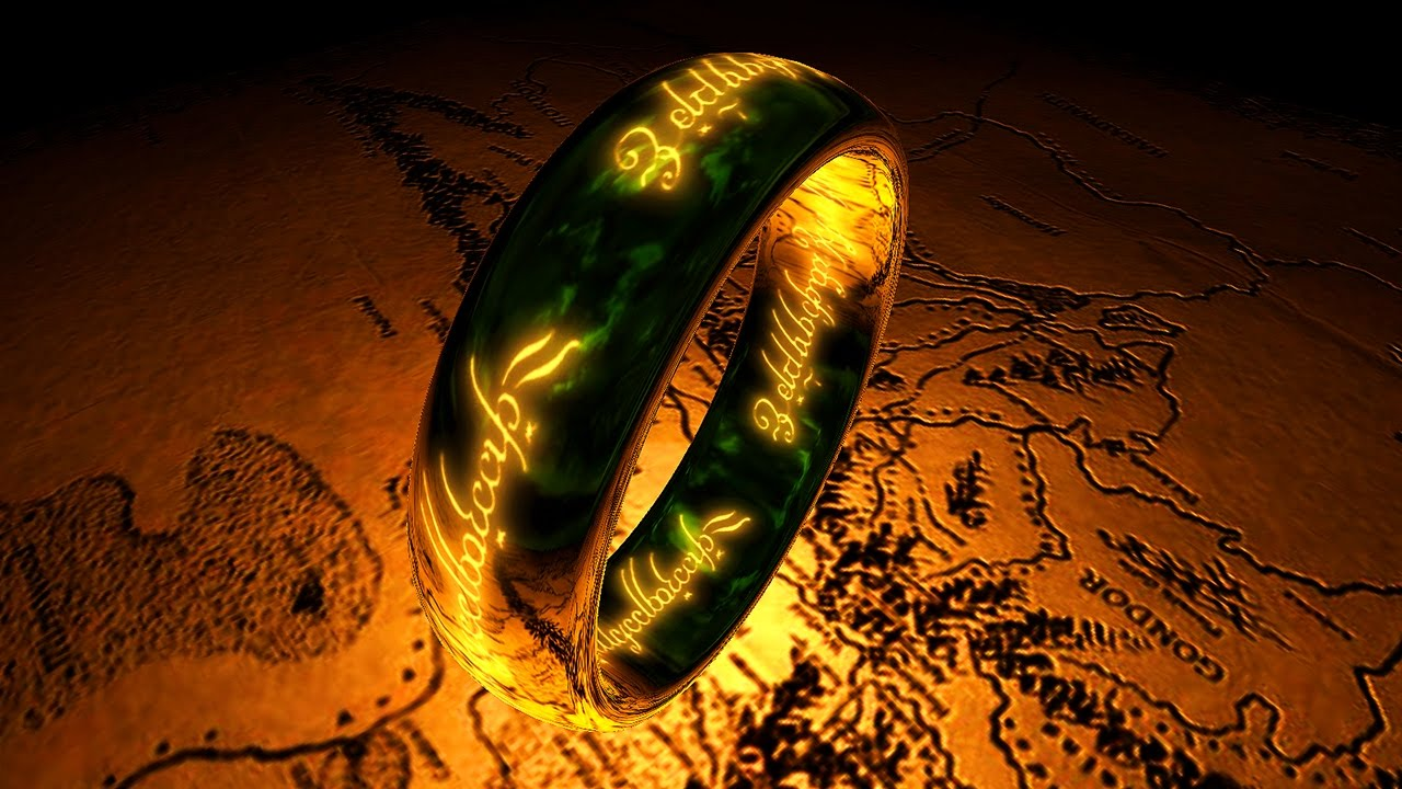 The One Ring 3d Screensaver Live Wallpaper Hd Youtube