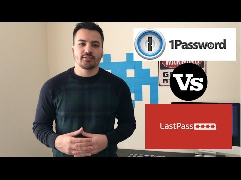 WHY I CHOSE LASTPASS OVER 1PASSWORD!