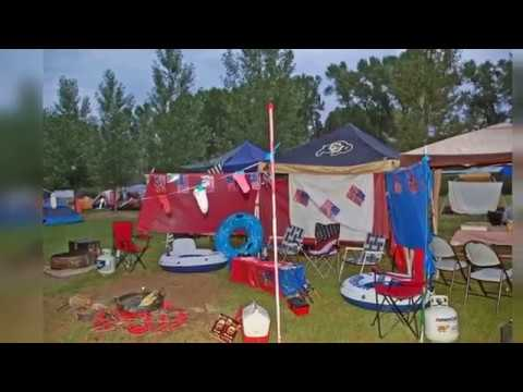 Permanent Campsite Decorating Ideas Decor Youtube