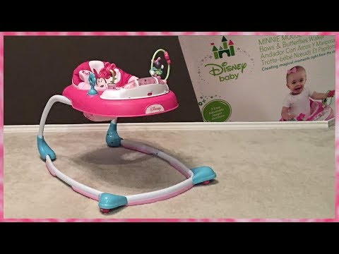 Disney Baby MINNIE MOUSE WALKER Unboxing and Assembly