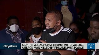 Family of Black Philadelphia man killed by police calls for calm amid protests