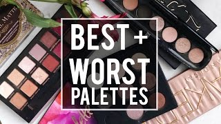 One of Jamie Paige's most viewed videos: 5 BEST + 5 WORST: EYESHADOW PALETTES | WHAT'S HOT OR NOT?! |JamiePaigeBeauty