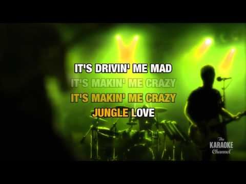 Jungle Love in the style of Steve Miller Band   Karaoke with Lyrics