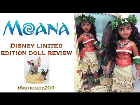 Moana Disney Store Limited Edition doll Out of the Box Review