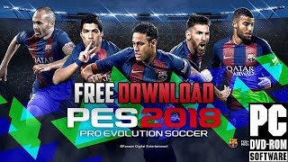 Gambar cover How To Download & Install PES 2018 FULL GAME FREE [PC]