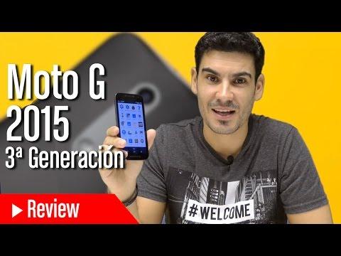 Análisis Moto G 2015: la tercera generación