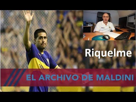 Riquelme y grandes goles elegidos por Maldini en su archivo. Una barbaridad. #MundoMaldini