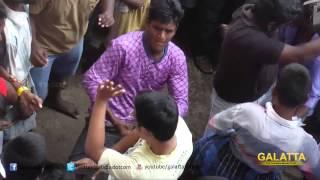 Lingaa First Day Celebrations at Albert Theatre | Galatta Tamil