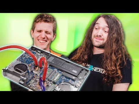 Sub-Zero Laptop Cooling?! - Feat. Gamers Nexus