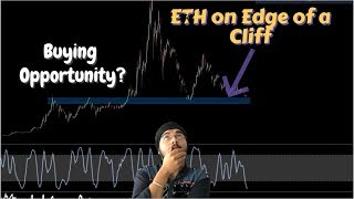 ETH on Edge of a cliff ! Live TA