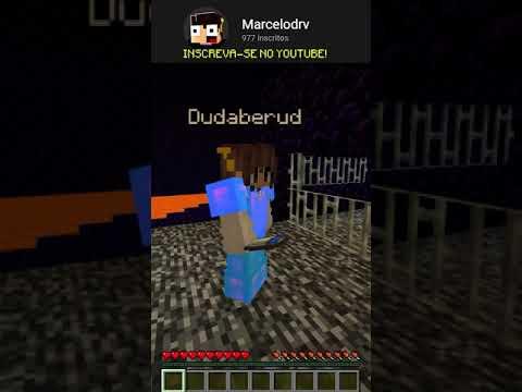 COMO FUGIR DE UMA PRISÃO INESCAPÁVEL! #Shorts #Minecraft