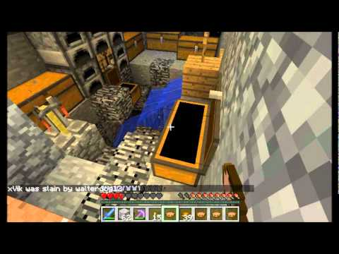 Minecraft PVP Raid #13 Early Morning Raid