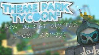 [ROBLOX] Tema Park Tycoon 2: Cómo empezar (dinero rápido)