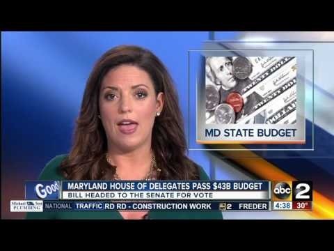 Maryland House of Delegates passes budget
