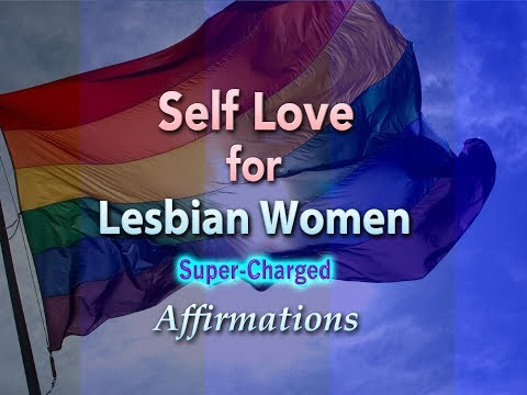Self Love for Lesbian Women - I AM Filled with Light, Love and Peace - Super-Charged Affirmations