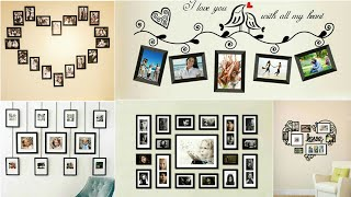 65  Wall Hanging Photo Frames Ideas