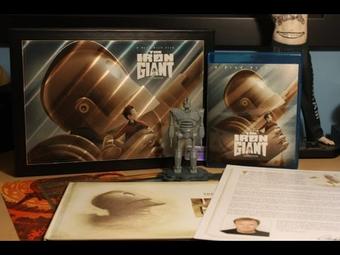 Download The Iron Giant - Limited Signature Edition Blu-ray Gift Set Unboxing
