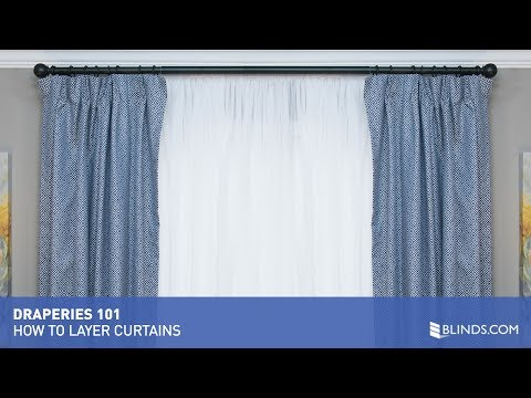 How To Install and Layer Curtains | Blinds.com