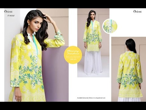 Latest Orient Exclusive Hello Spring Digital Collection 2017