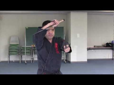 KOBUDO 琉球古武道 釵 與儀會館
