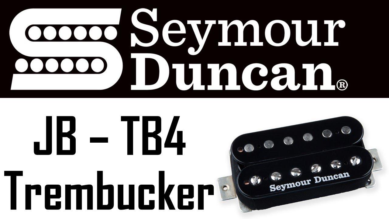 Seymour Duncan - TB4 JB Trembucker - Rock TONE TEST