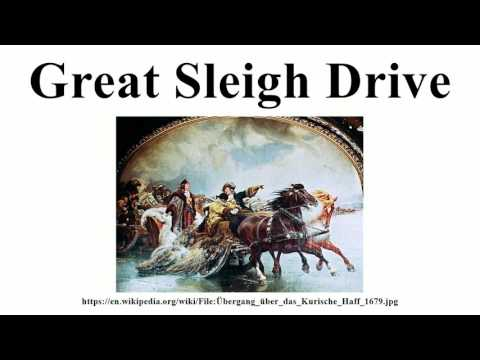 Great Sleigh Drive