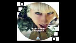 Matt Hanzi - Saturday (Radio Edit)