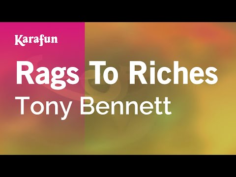 Karaoke Rags To Riches - Tony Bennett *