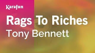 Karaoke Rags To Riches - Tony Bennett *