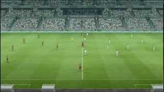 PES 2013 Demo Gameplay Portugal vs England PC HD Max Difficulty & Max Settings