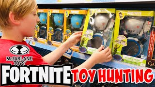 FORTNITE TOY HUNTING 4 *BRAND NEW* McFarlane Action Figures OMEGA, CARBIDE, RAPTOR + GLIDER PACKS