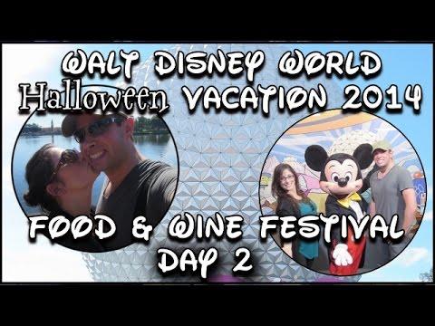 Walt Disney World Halloween Vacation 2014 Day Two: Epcot - World Halloween Day