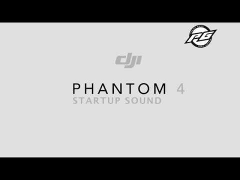DJI PHANTOM 4 STARTUP SOUND #DroneVlog18