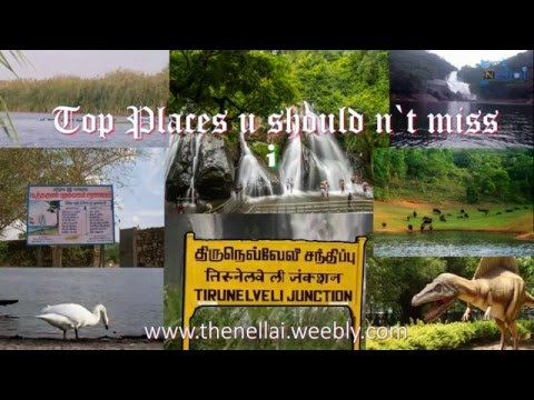 Places you must visit in Tirunelveli | Top 5