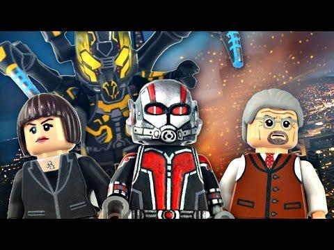 LEGO Marvel : Ant-Man Minifigures - Showcase