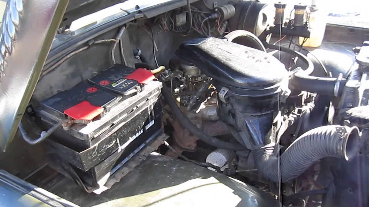 Пуск,работа и давление двигателя умз-421