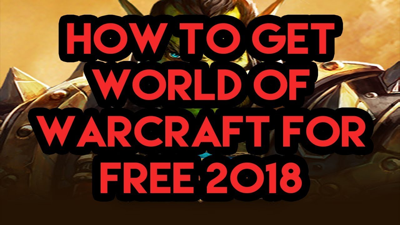 How To Get World Of Warcraft GAME TIME FOR FREE(yes i've actually done this)