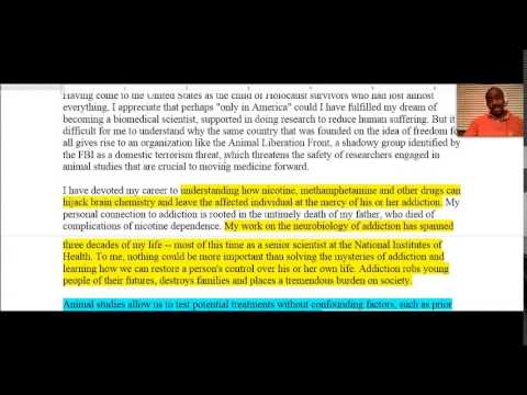 GED Essay 2014 (Extended Response) - YouTube