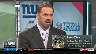 Giants vs Patriots Week 6 Storylines   NFL Total Access Preview