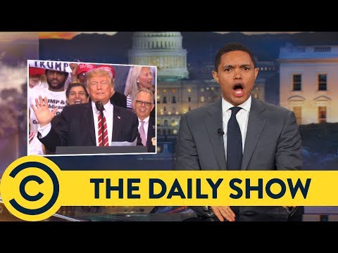 Trump Reveals Who The True Victim Is - The Daily Show | Comedy Central