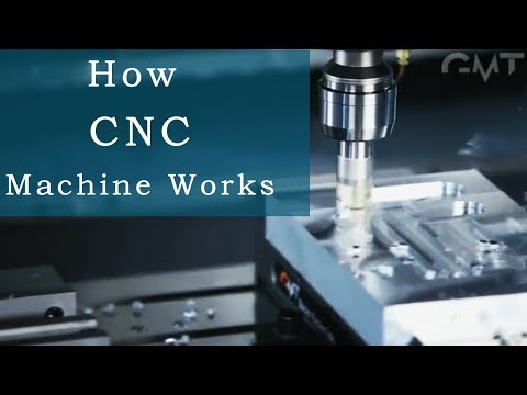 How a CNC Milling Machine Works