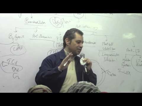 29. Dr.Ahmed Abdelrahman [Bronchial Asthma-Anti inflammatory Drugs-Treatment of cough-Anti-tussives]
